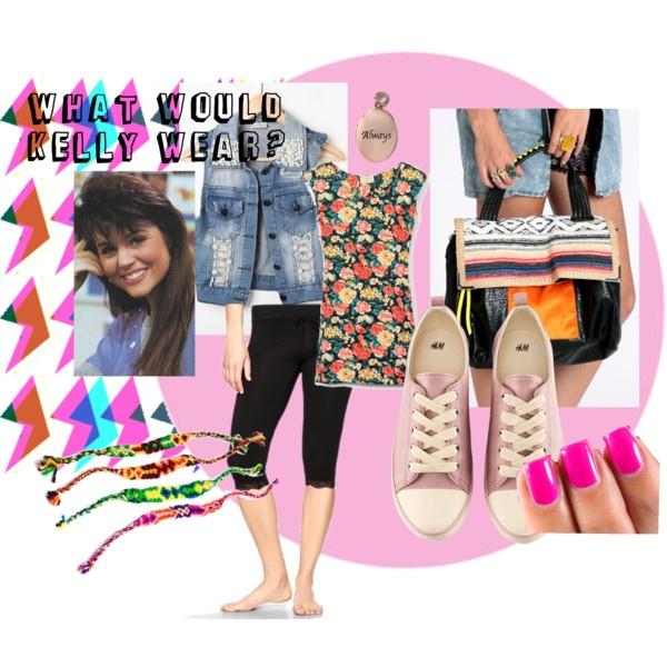 Kelly Kapowski style