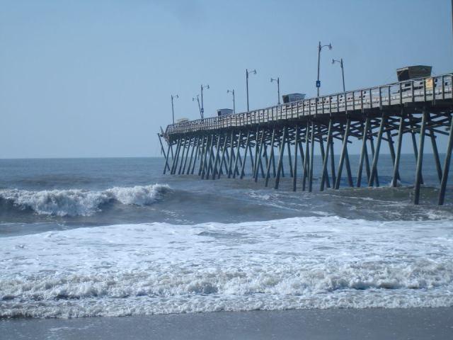 bogue inlet pier hurricane irene